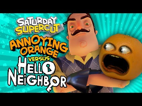 Hello Neighbor - Entire Full Game Play Through! (Saturday Supercut 🔪)