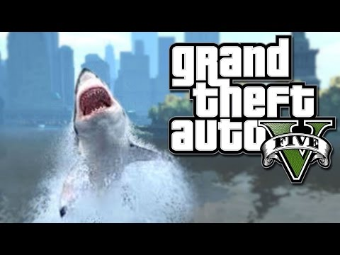 GTA 5 How To Be A Shark Xbox One - PS4