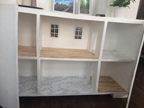 DIY: Dollhouse/Cardboard cabinet