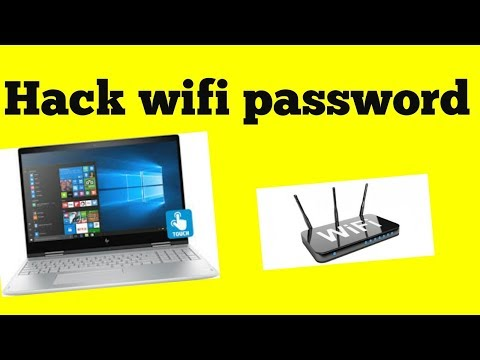 how to hack/get wifi password for laptop on window 10  in hindi/urdu 2018