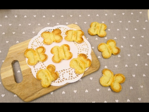 Puff pastry butterflies: a simple yet surprising recipe!
