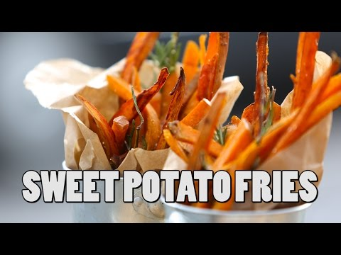 SWEET POTATO FRIES | RECIPE