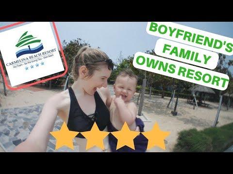 Carmelina Beach Resort, Vung Tau, Vietnam    Family Vlog #6
