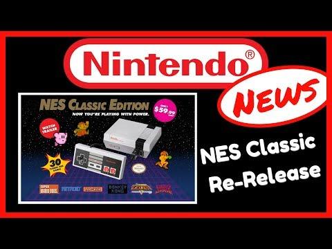NES Classic Edition AGAIN! | Nintendo News