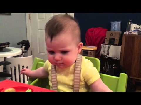 Baby led weaning - spring onions