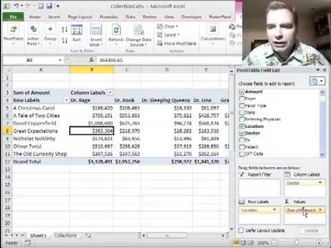 Excel Video 281 Pivoting Rows and Columns in a Pivot Table