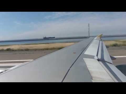 Decollo da Genova Airport Cristoforo Colombo