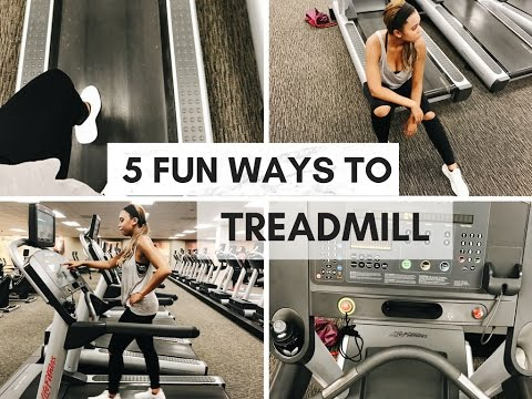 Say NO to BORING Treadmill Workouts | The Sweat Series