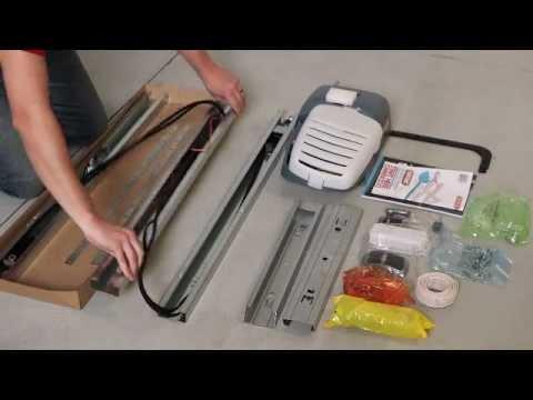 Belt/Chain Drive Opener Installation (All steps)