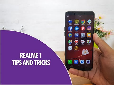 Realme 1 Tips,Tricks and Features Color OS