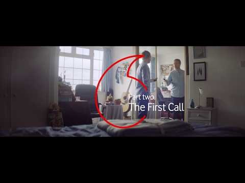 Vodafone Christmas Love Story.  Part 2: The First Call