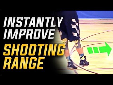 Instantly Improve Basketball Shooting Range | The Leg Drift