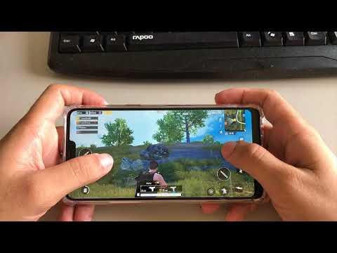 Test Games PUBG Mobile in OPPO F7