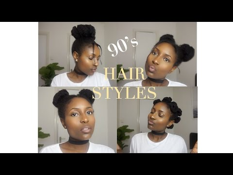 Quick and easy 90's hair styles