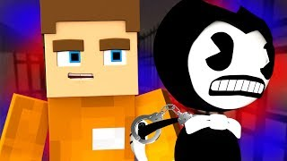 BENDY GETS ARRESTED AND GOES TO PRISON! w/ LittleKelly & Sharky