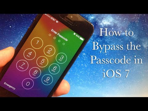 How to Bypass the Passcode on iOS 7 - Glitch