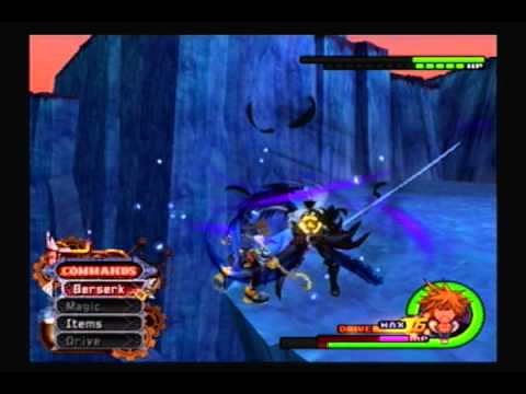 Sephiroth Boss Battle Kingdom Hearts 2