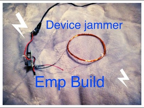 Emp device! Ultimate emp project to shutdown everything!! | Homemade
