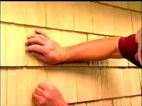 How to Replace Damaged Vinyl and Polymer Shakes Siding Cedar Impressions Panel