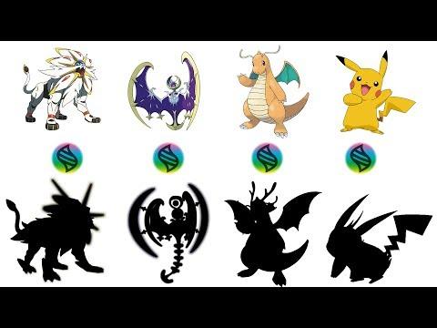 Fan Requests #4: Mega Solgaleo, Lunala, Dragonite, Pikachu - Pokemon Mega Evolution Fanart Series