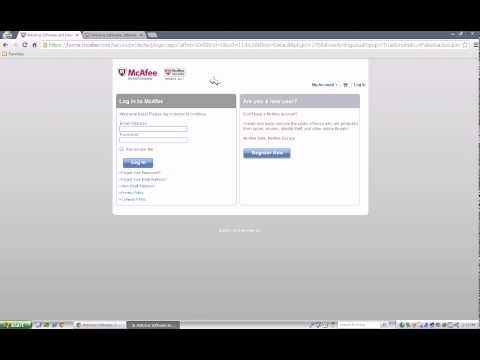 How to activate and download your McAfee product