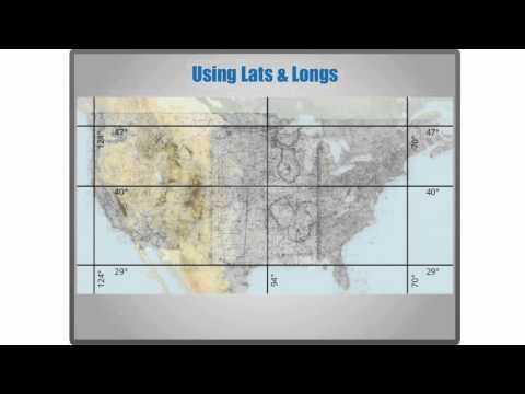 Sectional Charts - Latitude and Longitude