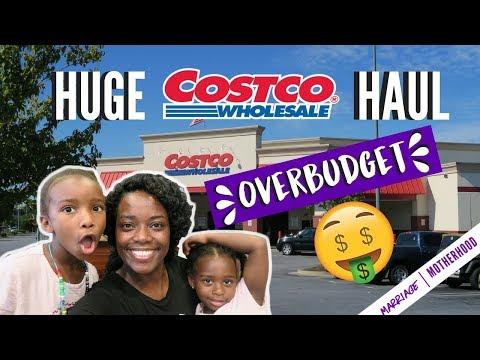 HUGE COSTCO HAUL | MONTHLY MEAL PLAN | OVERBUDGET grocery haul | Marriage & Motherhood
