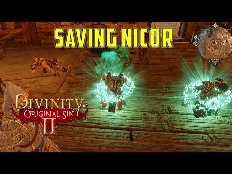 How to save Nikor: Dark Dealings in the Blackpits (Divinity Original Sin 2)