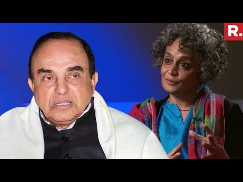 Dr. Subramanian Swamy Reacts On Arundhati Roy's Anti India Comments
