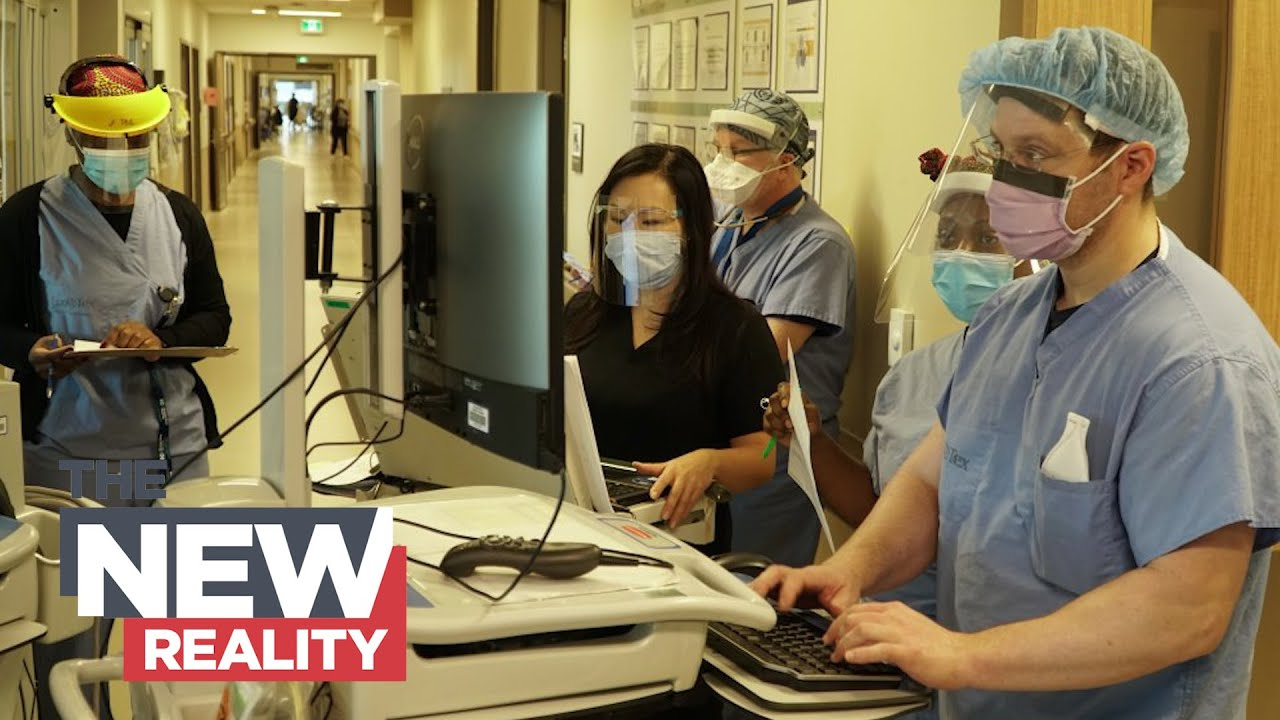 The New Reality: Exhausted but determined — hospital staff cope with COVID-19's second wave