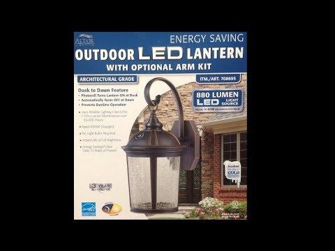 Costco LED Lantern Repair