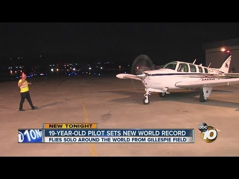 19-year-old pilot Matt Guthmiller sets new world record for flight