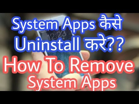 [No RooT] How To Remove or Uninstall System Apps In Android Devices | Not Any App Use | Hindi