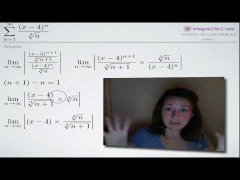 Interval of Convergence (KristaKingMath)