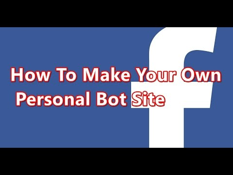 How to make Personal bot site on mobile in Urdu Hindi Tutorial