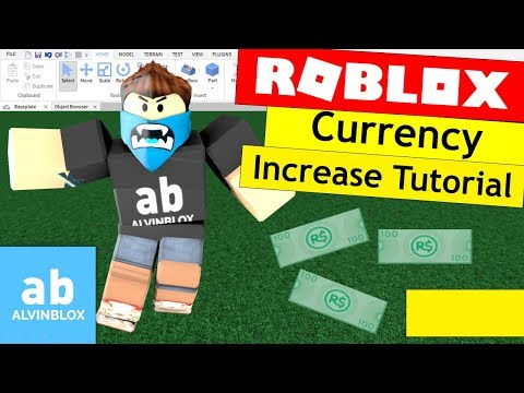 How To Make A Currency Increase Script On Roblox - Reward Cash Automatically In Your Game