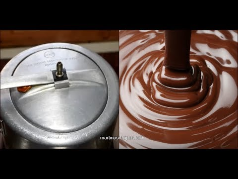How to melt Chocolate in just 5 Minutes.