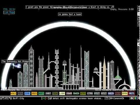 Powder Toy-Laser vs City
