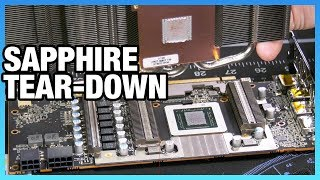 Sapphire RX 5700 XT Pulse Tear-Down: Cooler Quality & Assembly