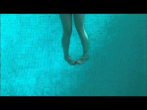 Heel Toe Touch (3rd of 5 Deep Water Exercises for Pregnant Women)
