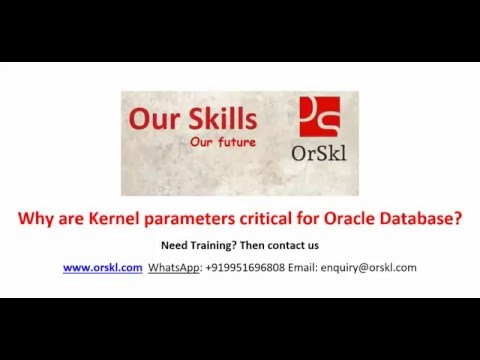 Why are Kernel parameters critical for Oracle Database
