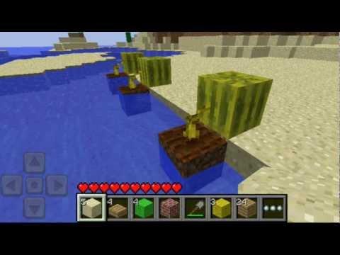 Minecraft Pocket Edition News: Watermelons