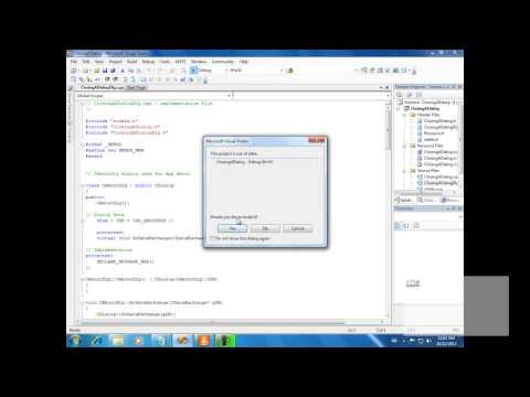 Close dialog|How to Override Dialog Box Close Event to prompt for confirmation| VC++ Tutorials