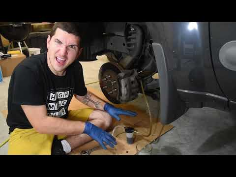 How to bleed Your Brakes (replace brake fluid)