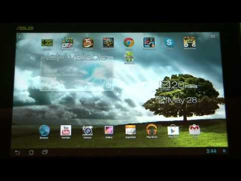 How to close or change background apps on an Android Tablet