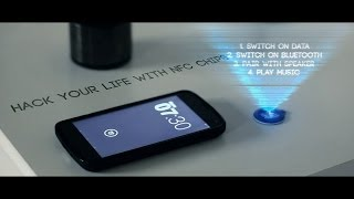 Hack your life with NFC chips / Ibeacon.