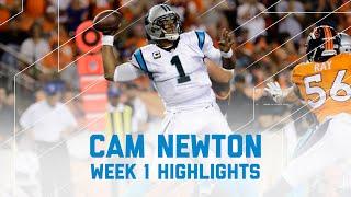 Every Cam Newton Throw Run Panthers Vs Broncos Nfl Week 1 Player High
