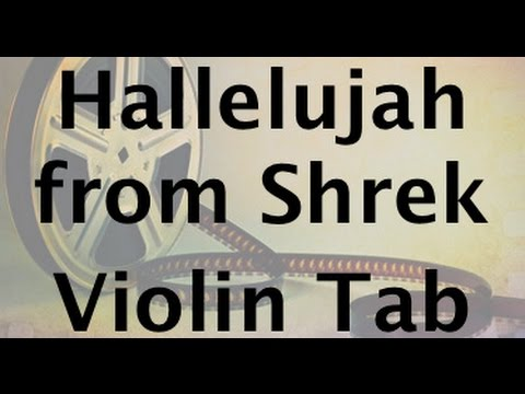 Learn Hallelujah from Shrek on Violin - How to Play Tutorial