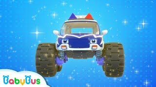 Monster Police Car Patrol Team   BabyBus Safety Tips   Super Rescue Team   Baby Song   BabyBus