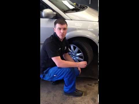 Simon from Fastfit Tyre & Valet centre - How To Check Your Tyre Tread Depth